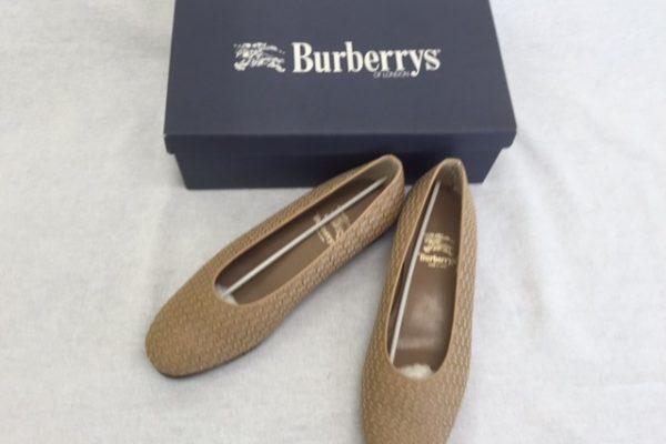 [出張買取]茨城県小美玉市 バーバリーの靴