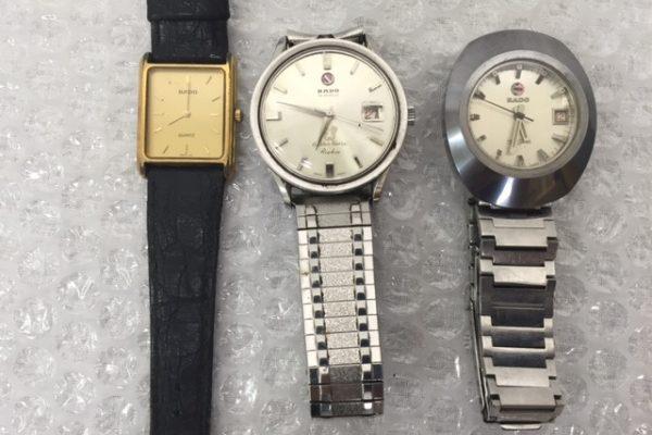 [出張買取]茨城県石岡市 ラドー腕時計