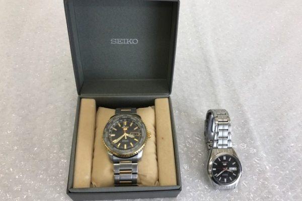 [出張買取]千葉県東金市 腕時計セイコー5