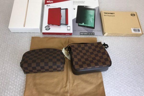 [出張買取]千葉県八街市 iPad mini4 128GB ルイヴィトンポーチ