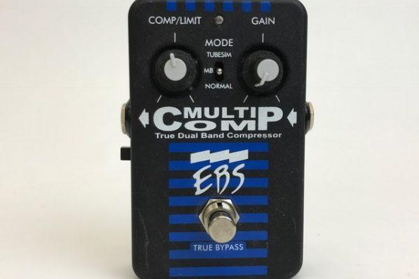 EBS MULTI COMP マルチコンプ ギター用品 買取り
