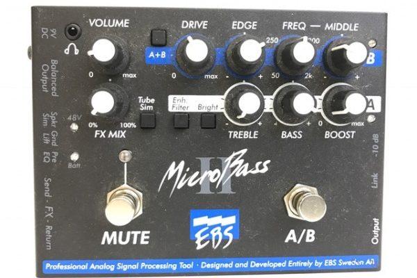EBS Micro Bass? ベースプリアンプ ギター用品買取り