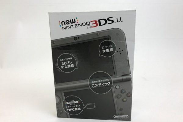 new NINTENDO 3DS LL メタリックブラック RED-001 買取り