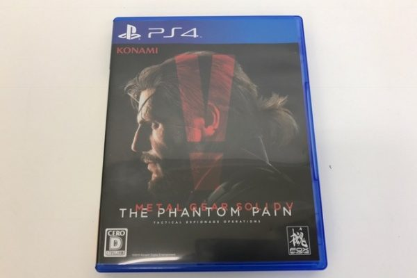 PS4 METAL GEAR SOLID ? THE PHANTOM PAIN ゲームソフト買取り